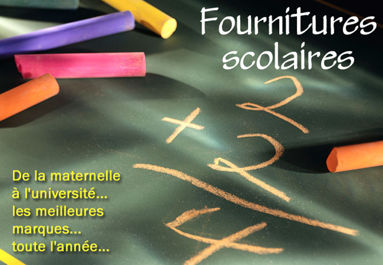 Guide fournitures scolaires