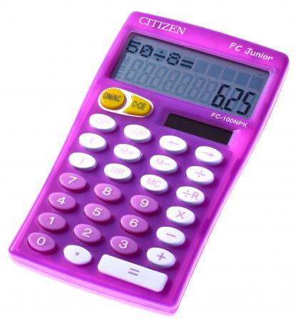 Citizen 72210 26 calculatrice de table fc 100n coloris for Calculatrice prix