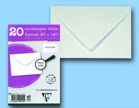 Clairefontaine 9421c sachet de 50 enveloppes adh clair for Fenetre 90x140