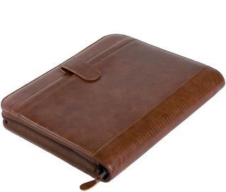 alassio 30053 conf rencier viterbro format a4 simili cuir marron incl calculatrice. Black Bedroom Furniture Sets. Home Design Ideas