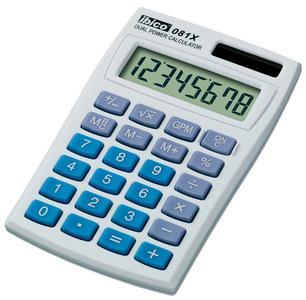 ibico ib410000 calculatrice de poche 081x 8 chiffres fournitures. Black Bedroom Furniture Sets. Home Design Ideas
