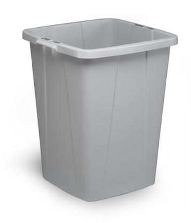 Durable 1800474050 poubelle durabin 90 coloris gris - Poubelle sans odeur ...