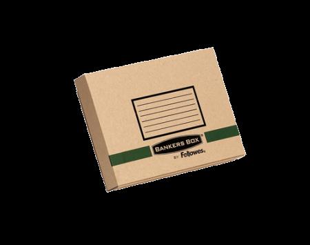 Fellowes 6204701 bo te d 39 envoi s curis e bankers box transit format a5 en carton recycl - Boite en carton recycle ...