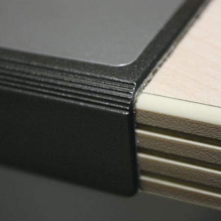 60192ca7d3e014 ... Sous-main avec rebord de protection, 50x65, coloris noir,image 2