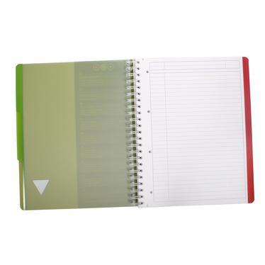 cahier feuille detachable