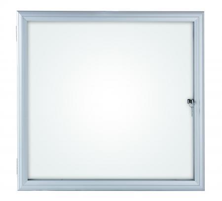 maul 69736 08 vitrine s rie s pour 6 x feuilles a4 cadre aluminium anodis coloris argent. Black Bedroom Furniture Sets. Home Design Ideas