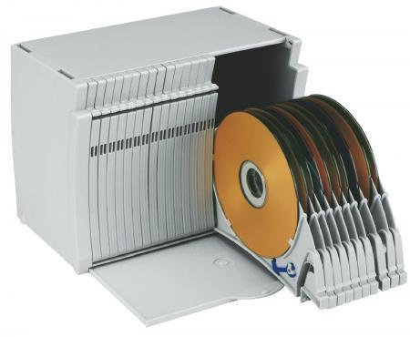 Boîte de rangement CD