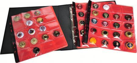 exacompta 96112e classeur pour collection de capsules de. Black Bedroom Furniture Sets. Home Design Ideas