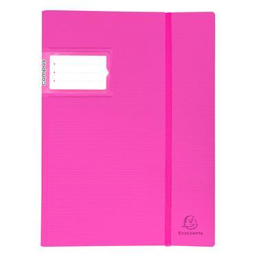 Exacompta 85461e prot ge doc pochettes fixes assortis for Porte vues couverture personnalisable